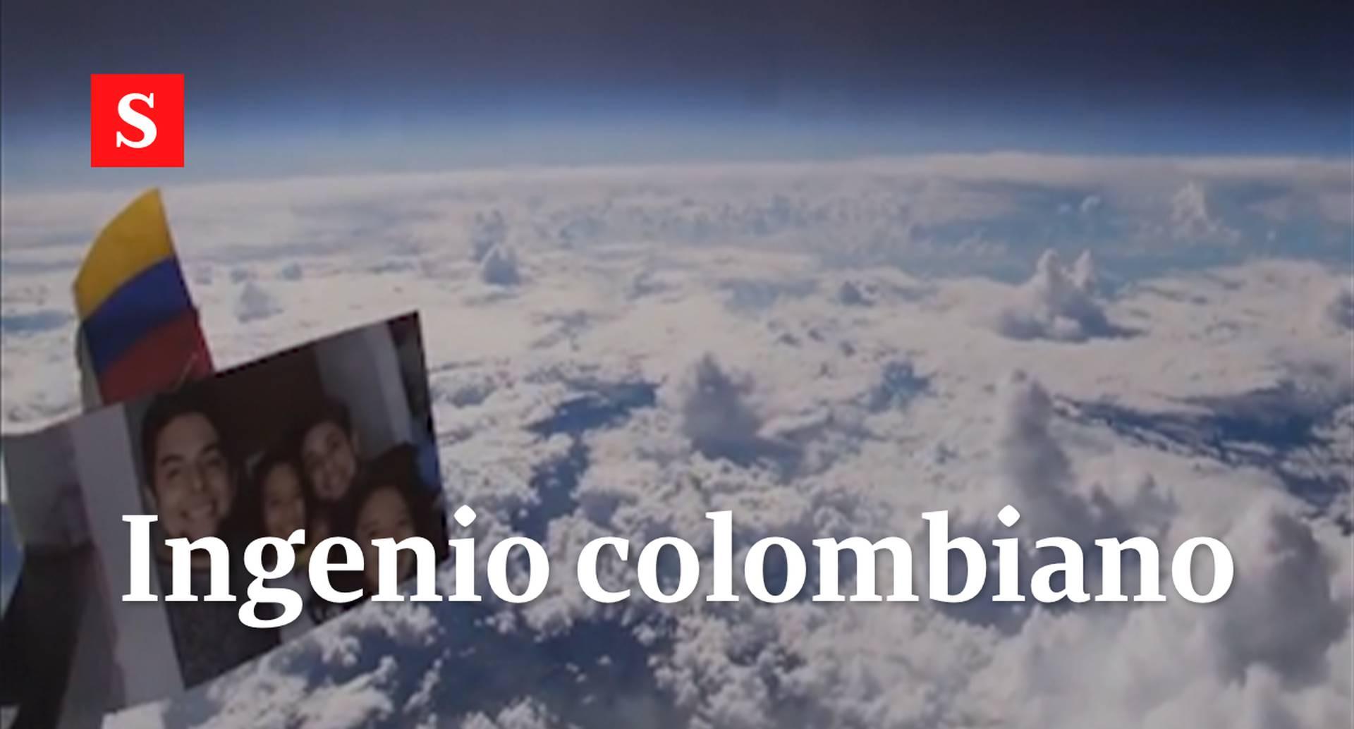 Impresionante experimento de un colombiano permite ver la tierra desde el espacio