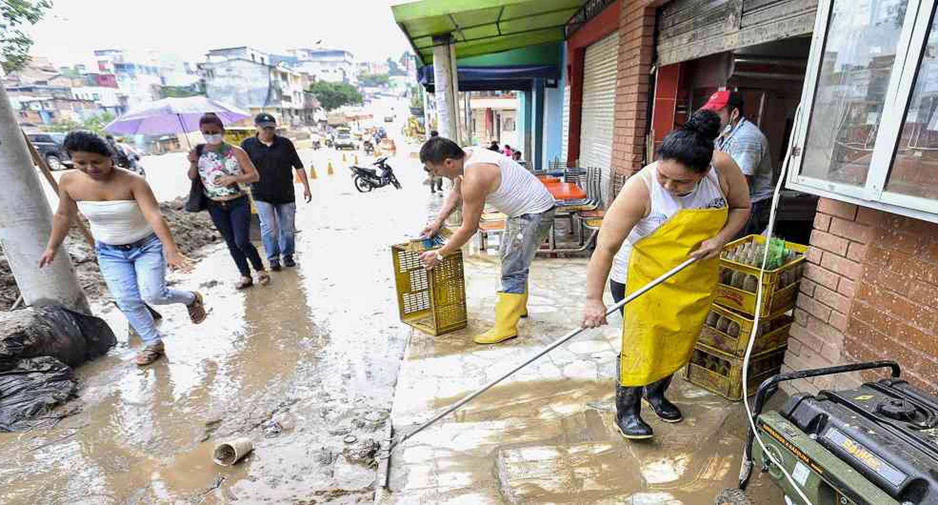 En varias regiones del país ya se han registrado inundaciones por cuenta del desborde de quebradas y ríos. Foto: archivo/Semana.