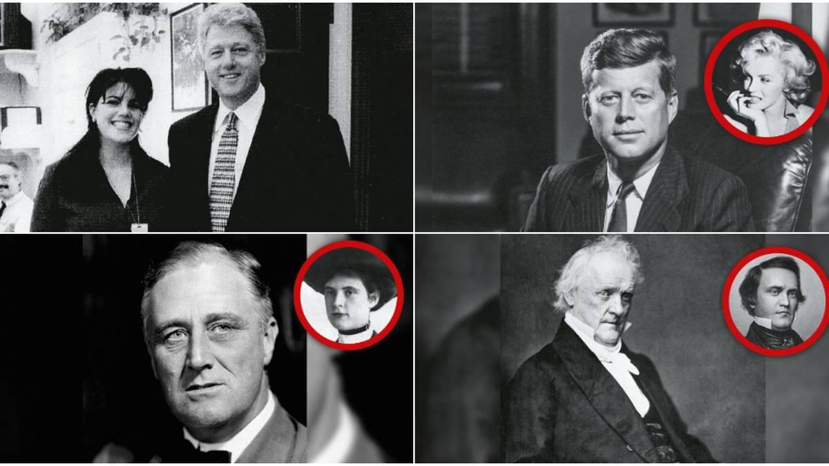 No Solo Clinton Y Kennedy Los Mayores Escándalos Sexuales En La Casa Blanca