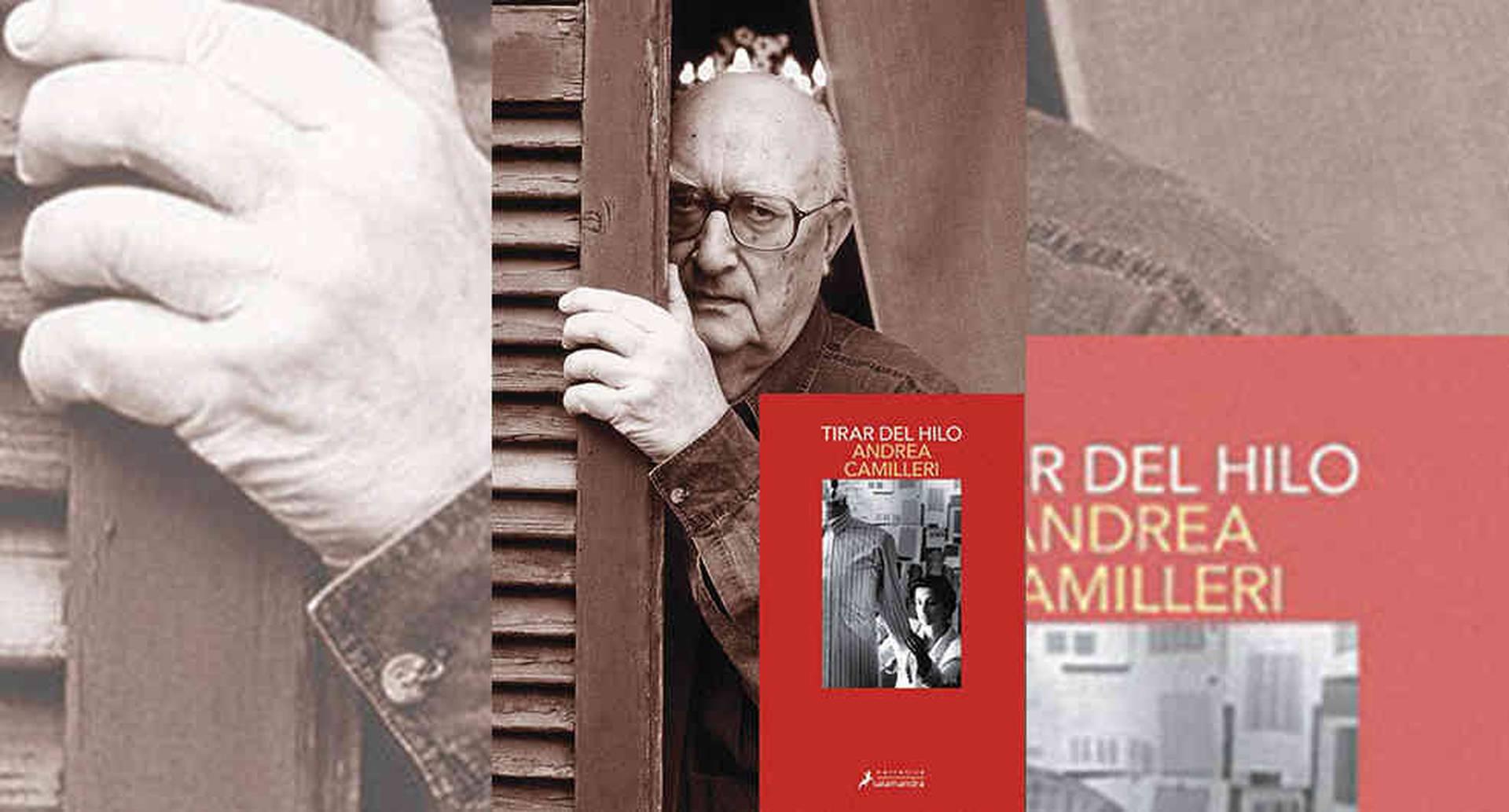 Andrea Camilleri, escritor italiano de género policíaco e histórico, falleció en 2019.