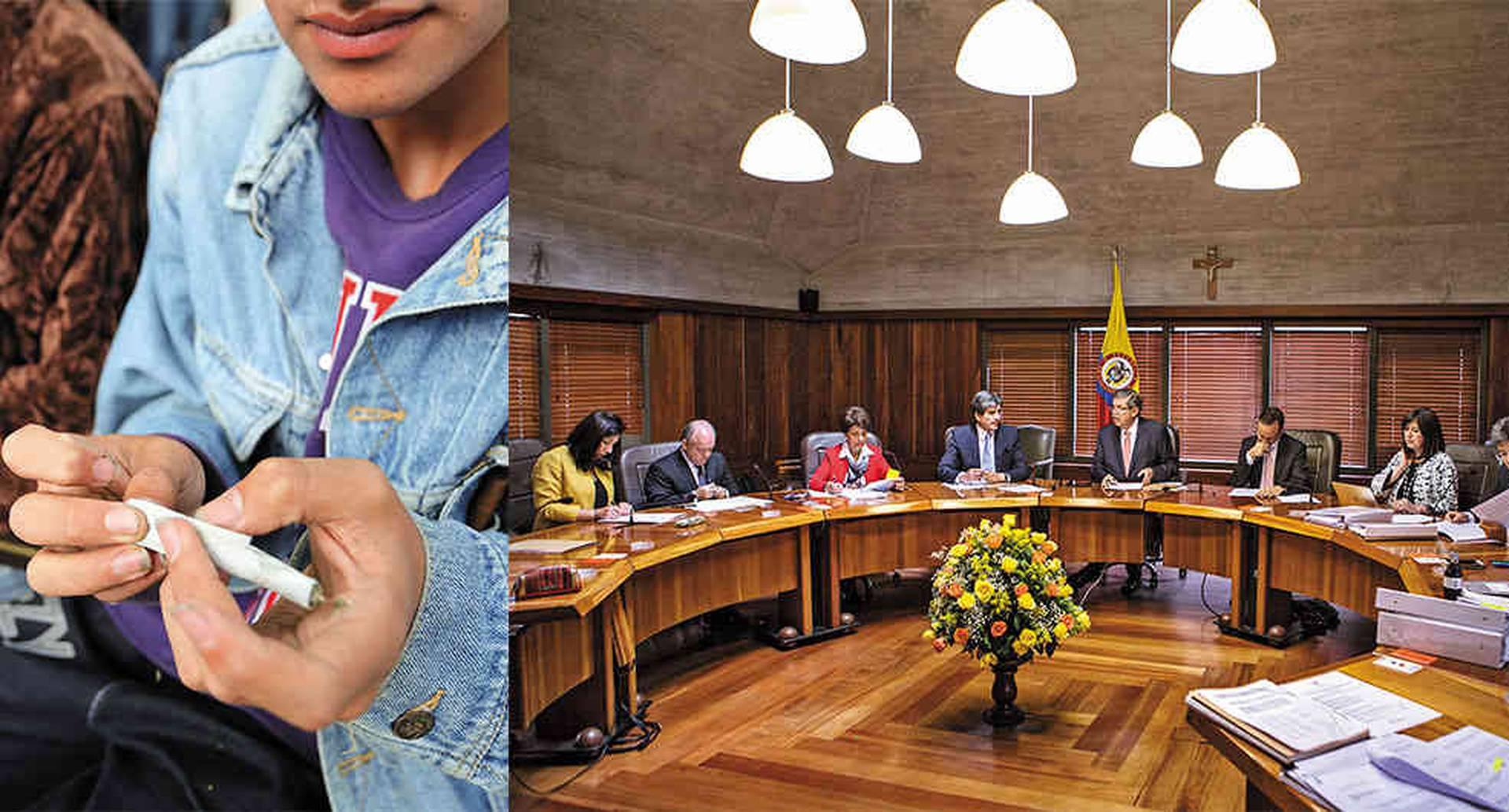 La sentencia dejaría en el aire los decretos con que el presidente Duque facultó a la Policía para incautar y destruir la dosis personal de droga en calles y parques.