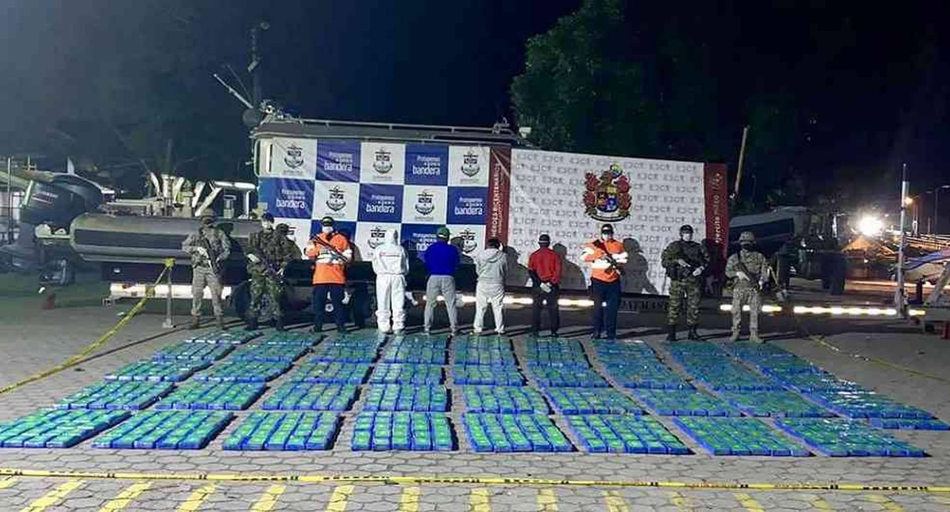 Cargamento de droga incautado en Tumaco - Foto de referencia