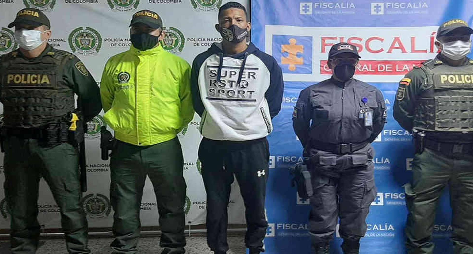 Alias Nene Pantera fue enviado a la cárcel por un juez de control de garantías en Medellín.