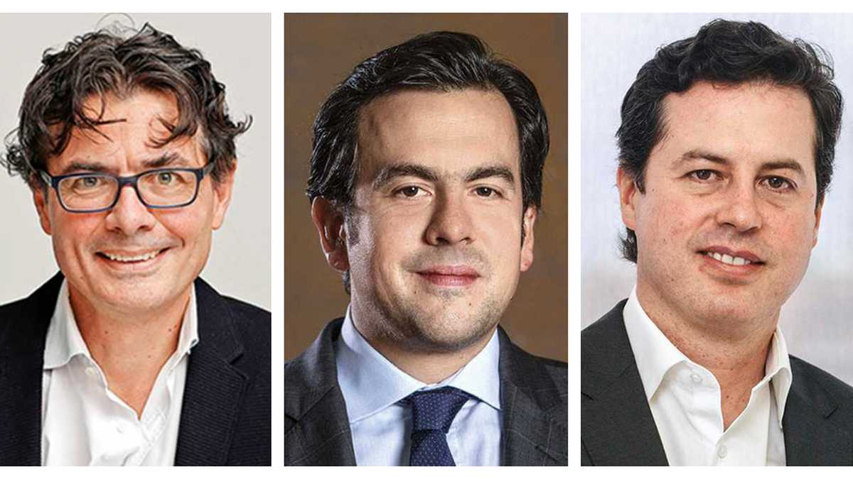 Alejandro Gaviria, Rodrigo Lara, Juan Manuel Galán