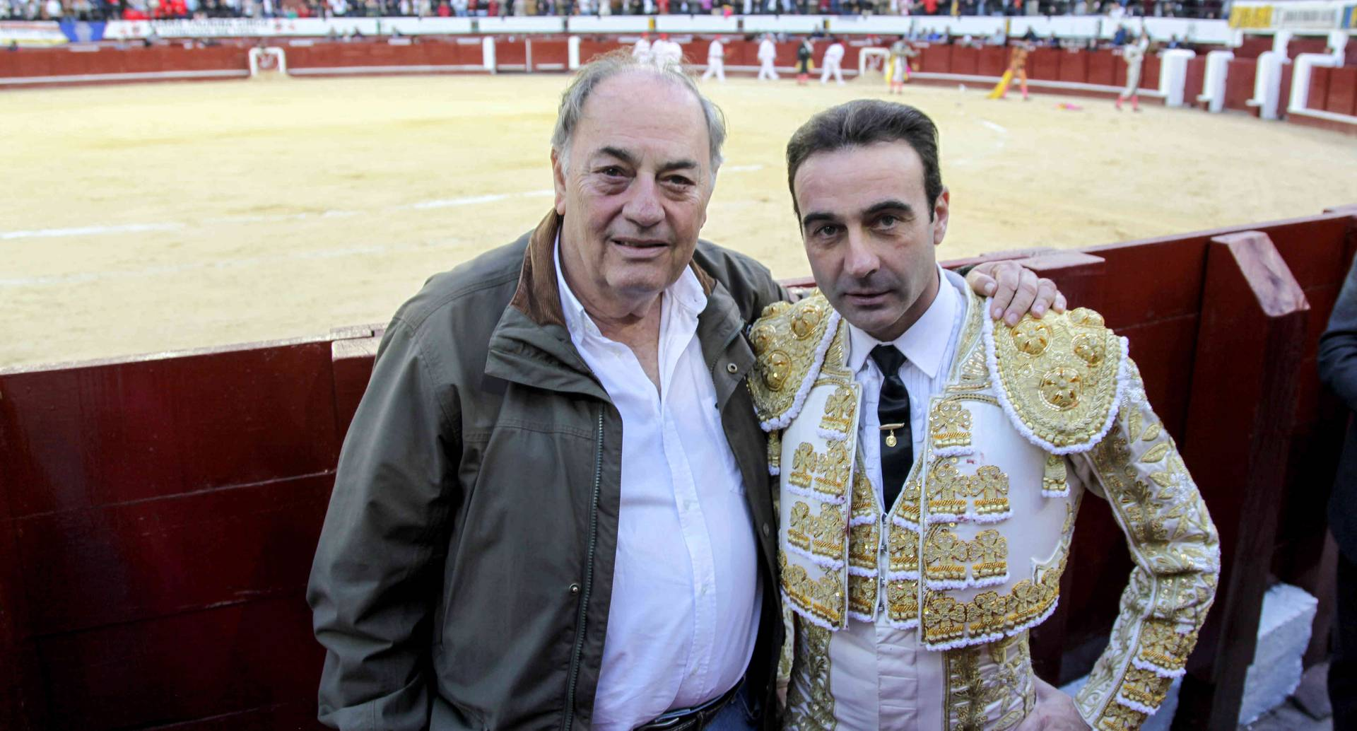 Santiago Tobón y Enrique Ponce. foto: Diana Rey Melo