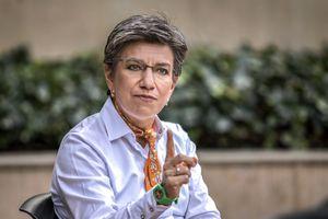 Claudia López. Alcaldesa Mayor de Bogotá. Bogotá Diciembre 2 de 2020. Foto: Juan Carlos Sierra-Revista Semana.