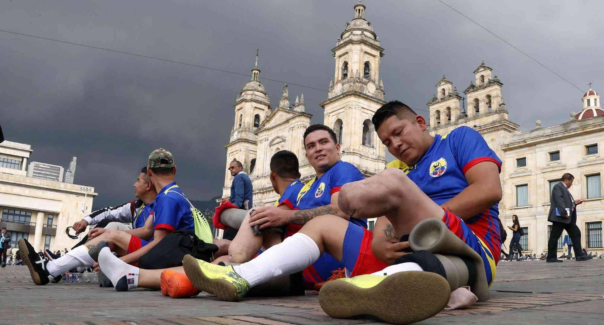 11,735 colombianos han sido víctimas de minas antipersonales desde 1990. FOTO: León Darío Peláez