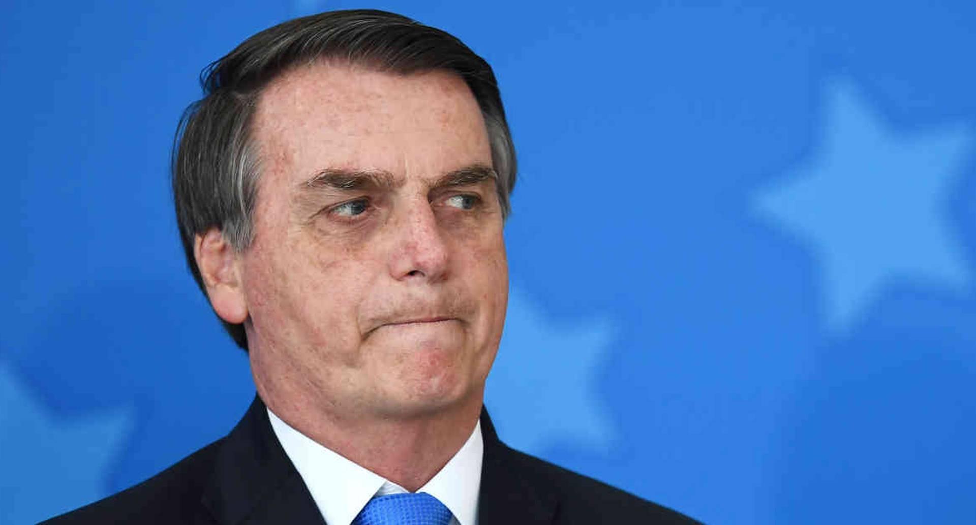 El ultraderechista Jair Bolsonaro es reconocido por sus constantes insultos y amenazas a sus opositores.