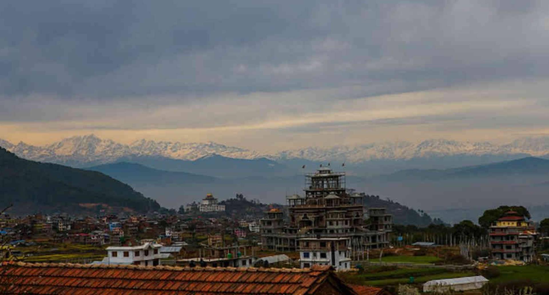 El Himalaya volvió a ser observado después de varias décadas desde algunas ciudades de India ubicadas a más de 200 kilómetros. Foto: Getty Images.