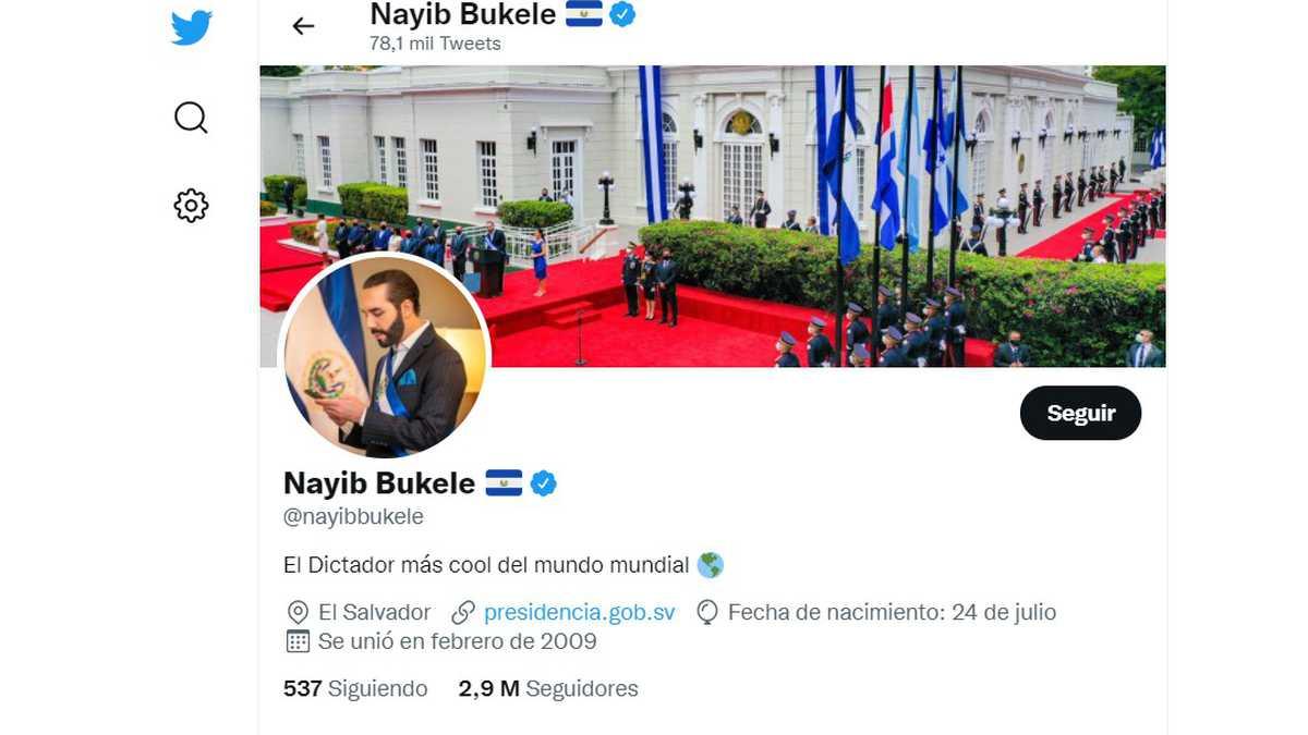 Twitter Nayib Bukele