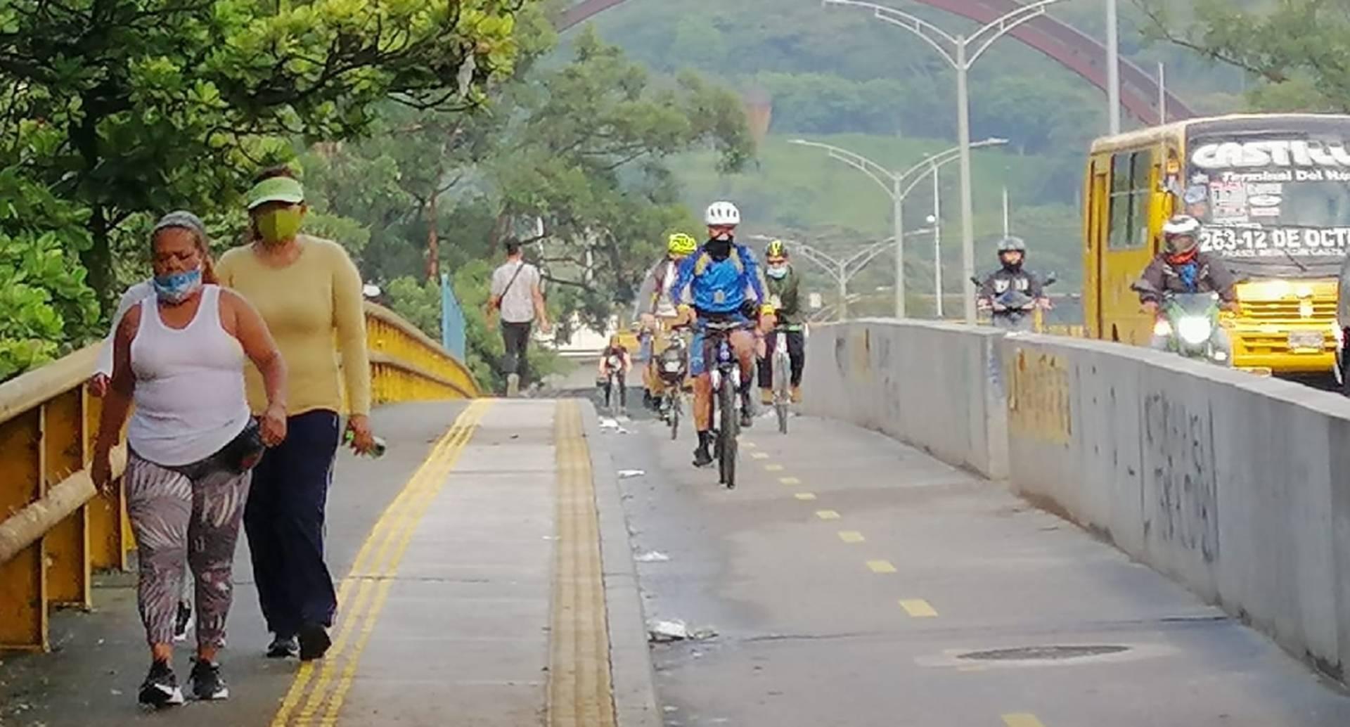 Jornada del Día Sin Carro en Medellín, 22 de septiembre de 2020