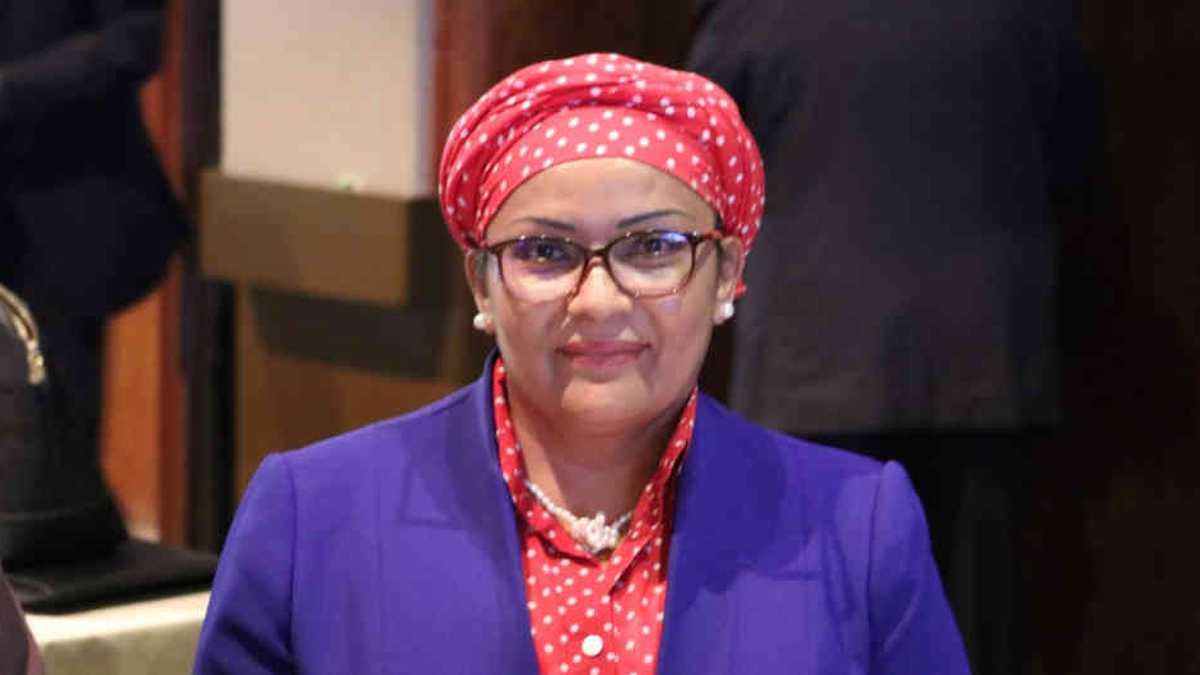 Victoria Sandino, senadora partido Farc.