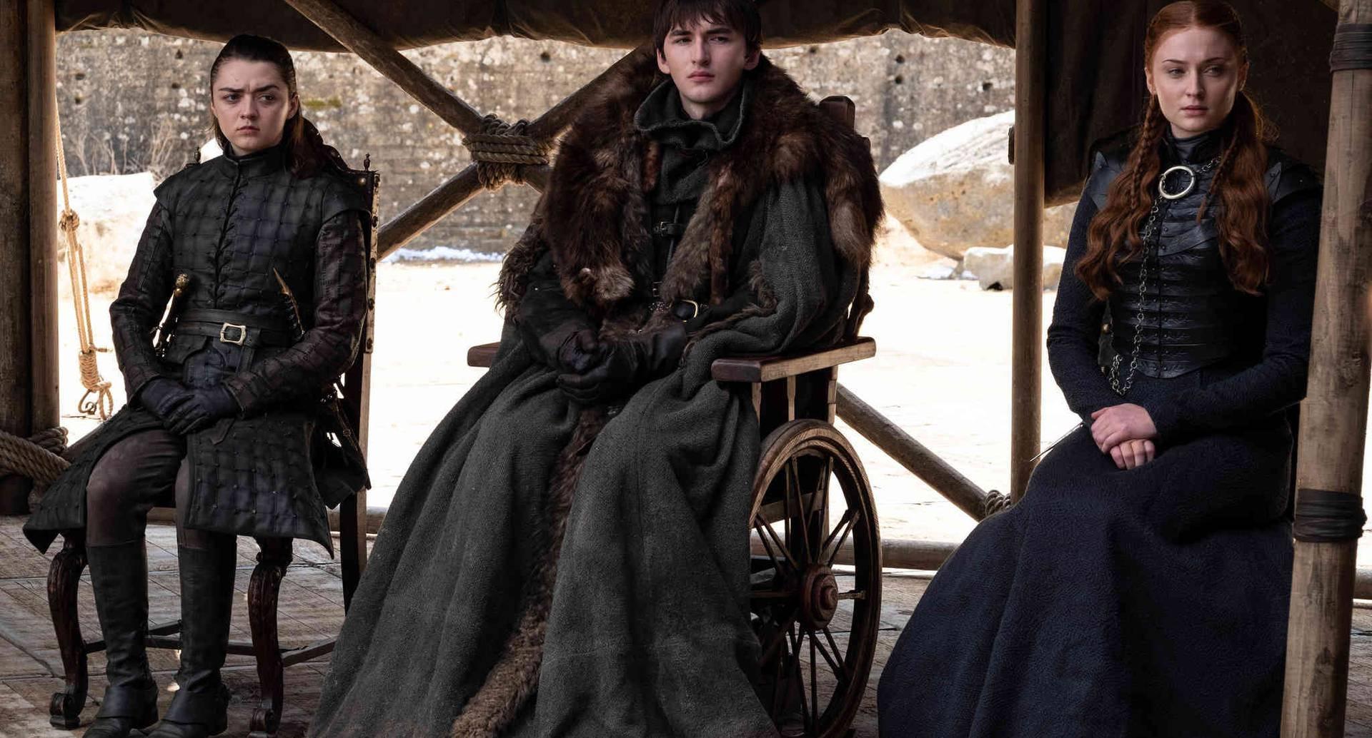 Bran Stark es elegido por los líderes de las casas de Westeros como el nuevo rey,