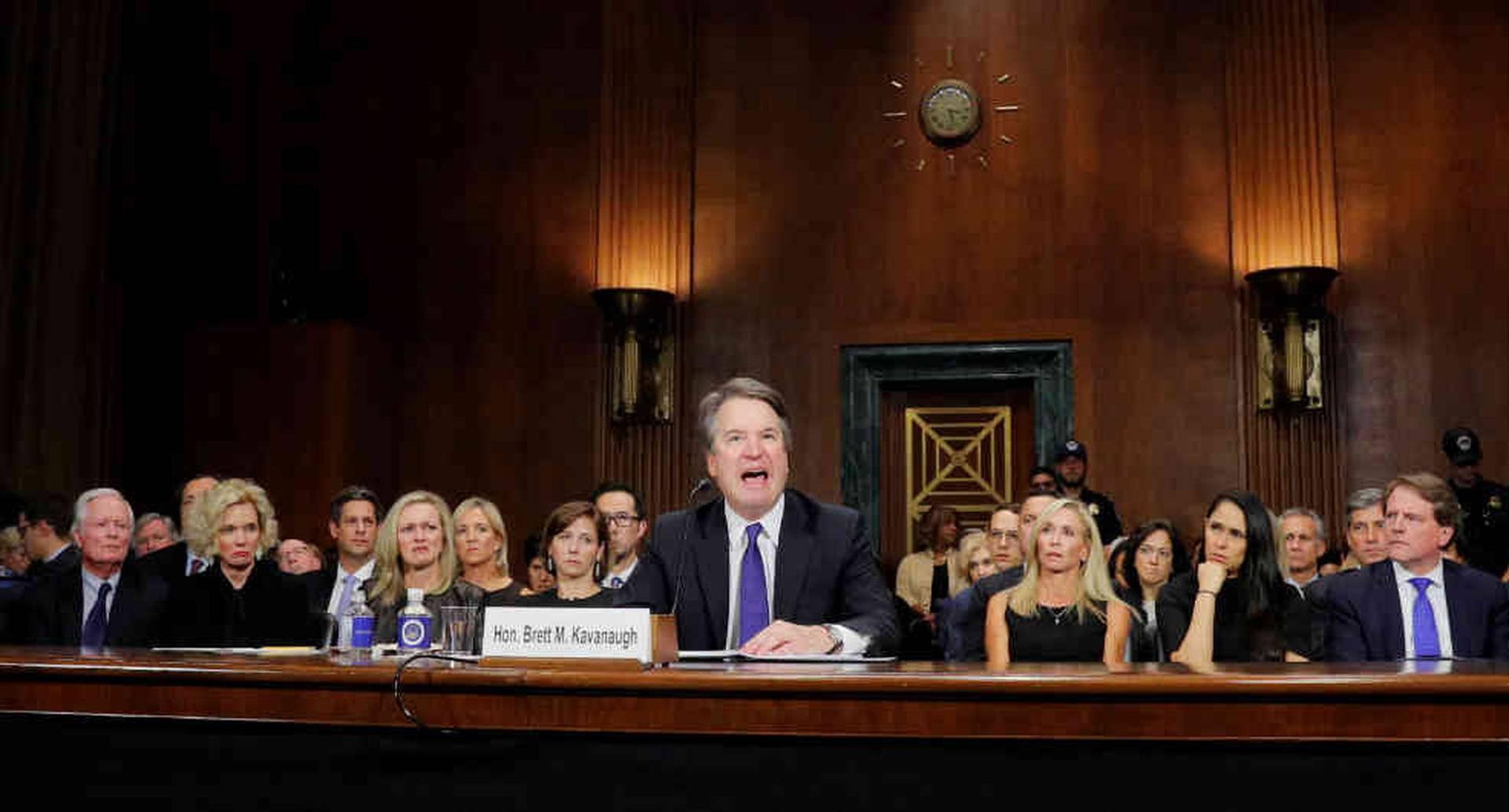 La audiencia en la que Christine Blasey Ford acusó a Kavanaugh fue transmitida en vivo y la vieron 20 millones de estadounidenses.