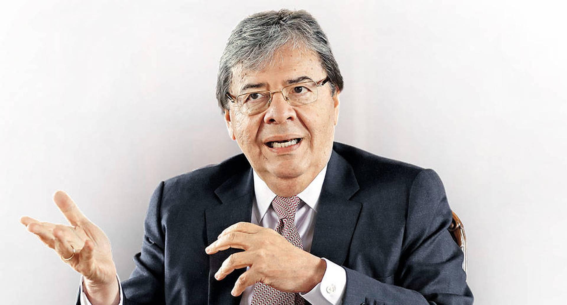 El ministro Carlos Holmes Trujillo.