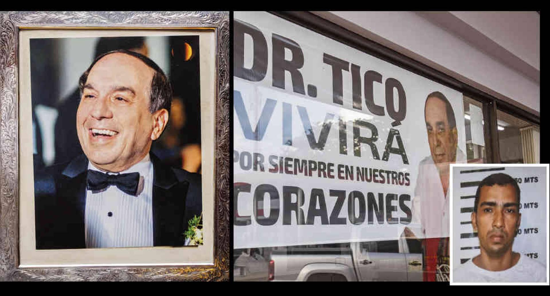 Todos querían al Tico Aroca en Valledupar. La Fiscalía capturó a Jaider Acuña y lo acusó de asesinar al pediatra.