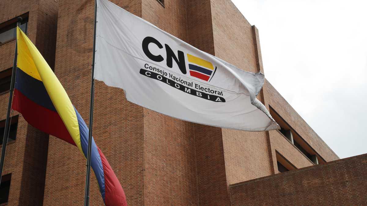 Sede del Consejo Nacional Electoral  CNE Bogota agosto 31 del 2021 Foto Guillermo Torres Reina / Semana