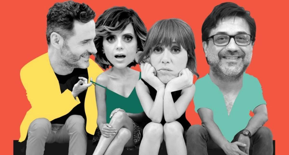 Fragmento del afiche de la película Amor en polvo