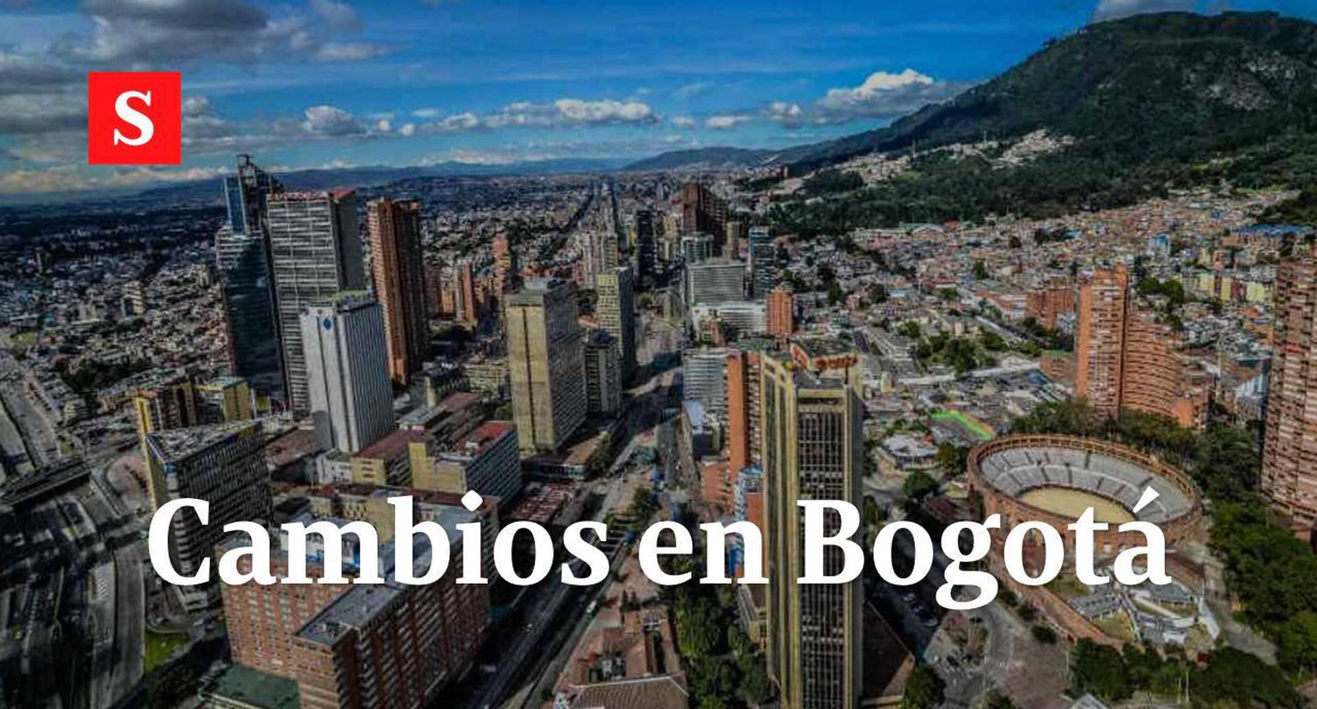 Cambios en Bogotá