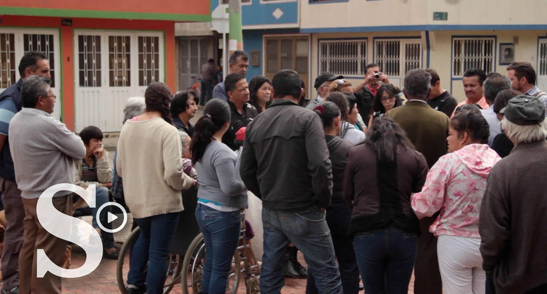 Los habitantes de Engativá anunciaron bloqueo en avenida principal.