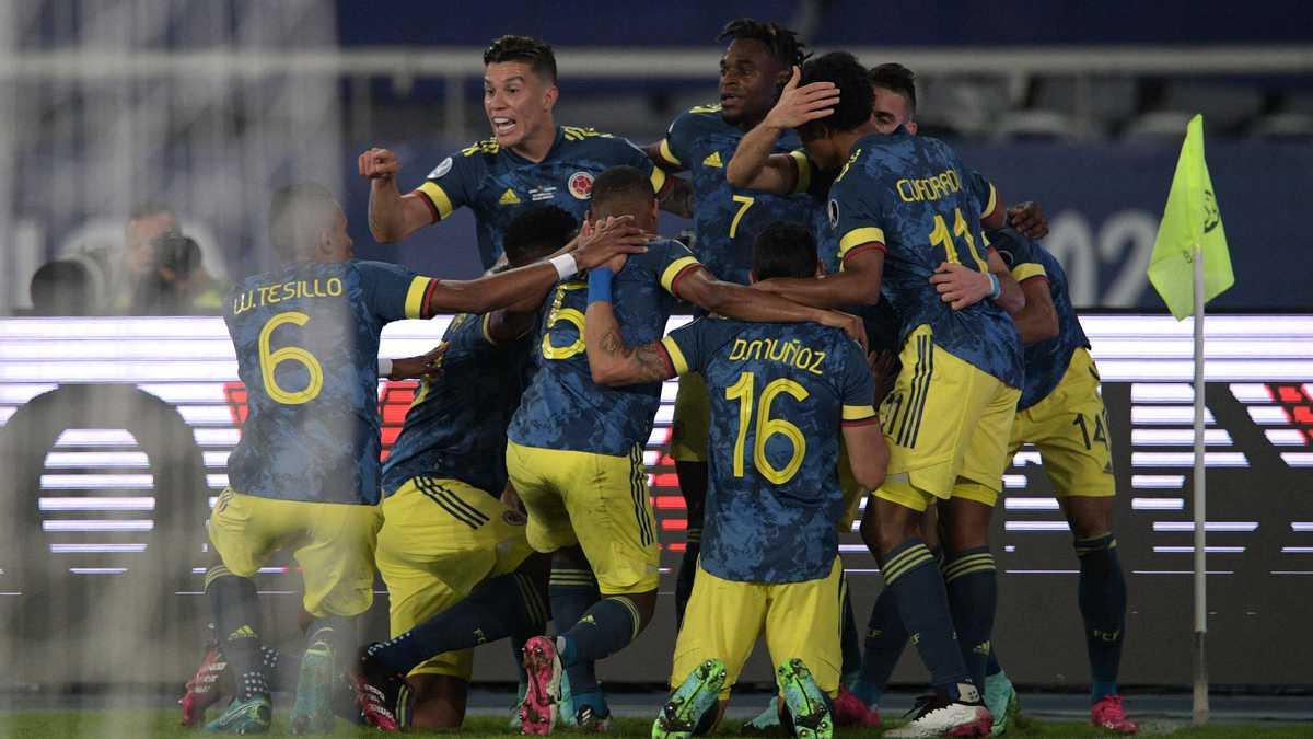 Golazo en el último minuto! El descomunal bombazo de Luis Díaz para la victoria de Colombia sobre Perú