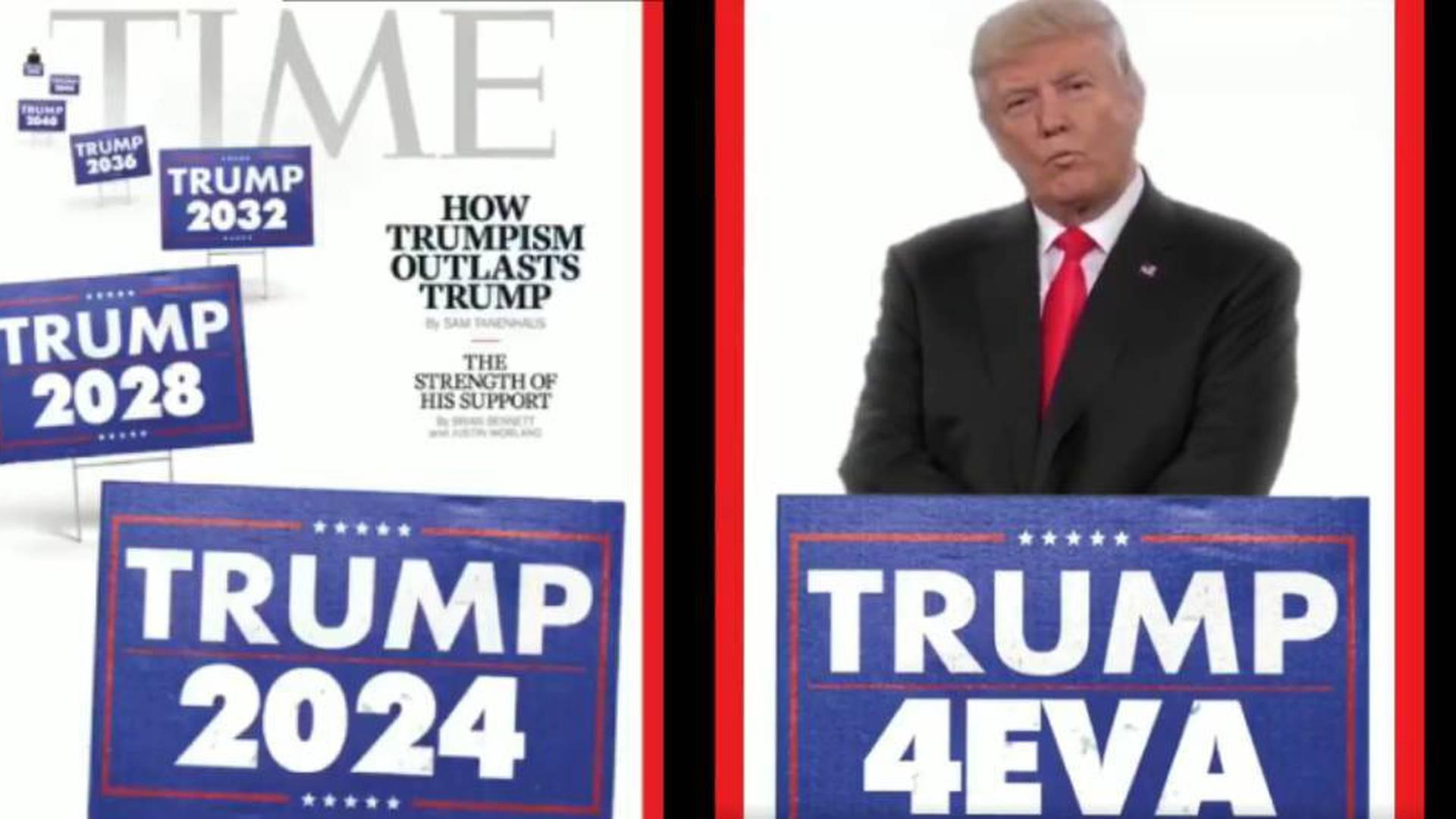 Al conocer el resultado de la votación, Trump celebró poniendo su pulgar en alto, pero además publicó un video en sus redes sociales para mostrar la proyección política que espera tener.