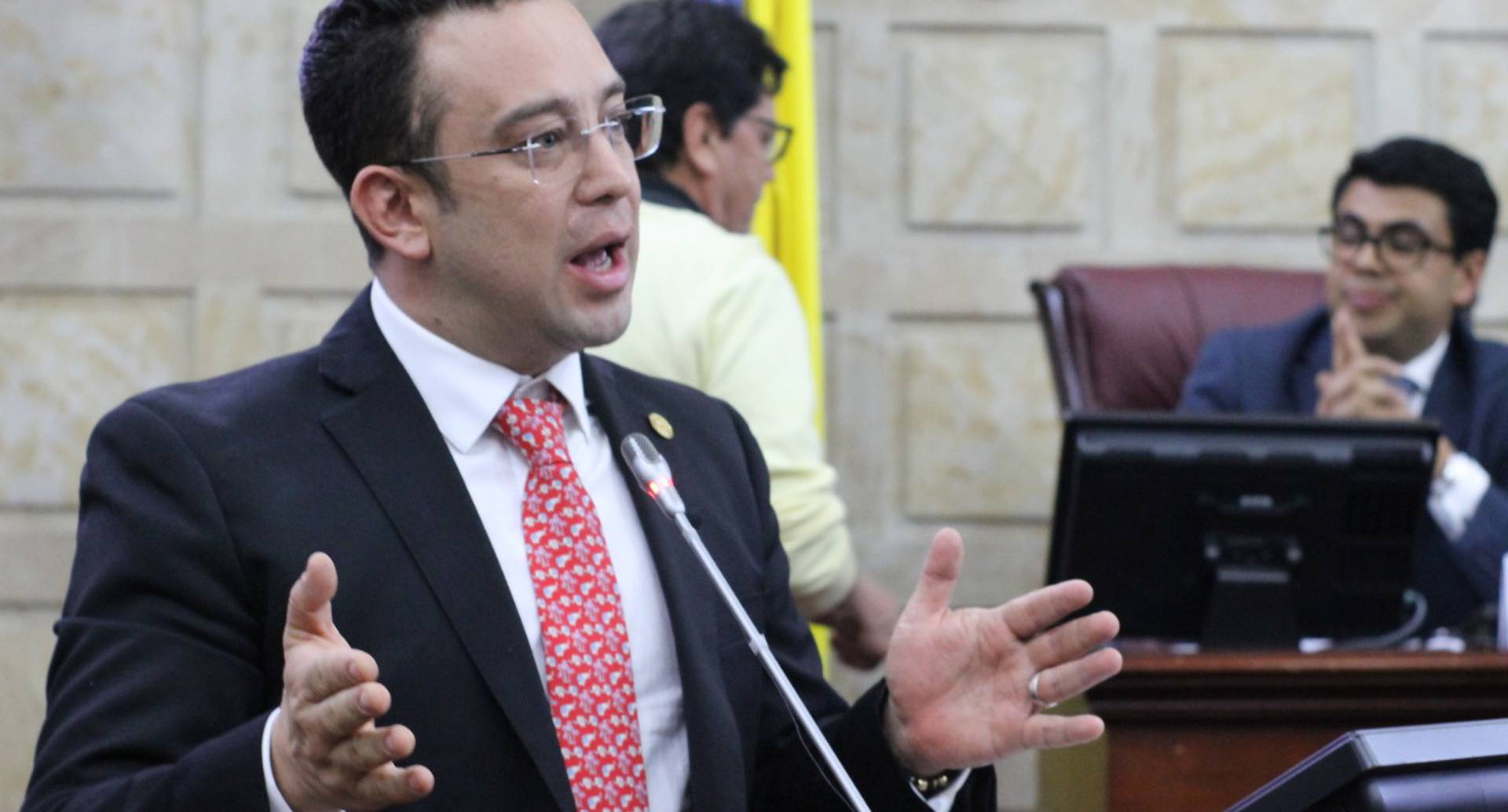 Concejal Yefer Vega