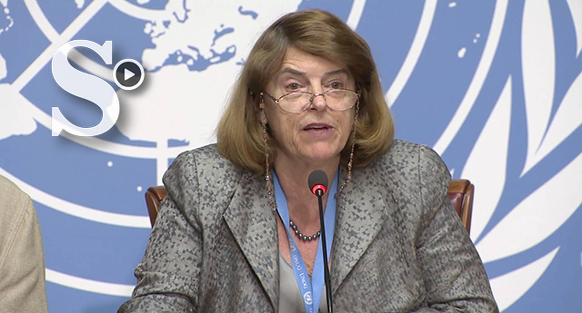 Mary McGowan Davis, presidenta de la comisión