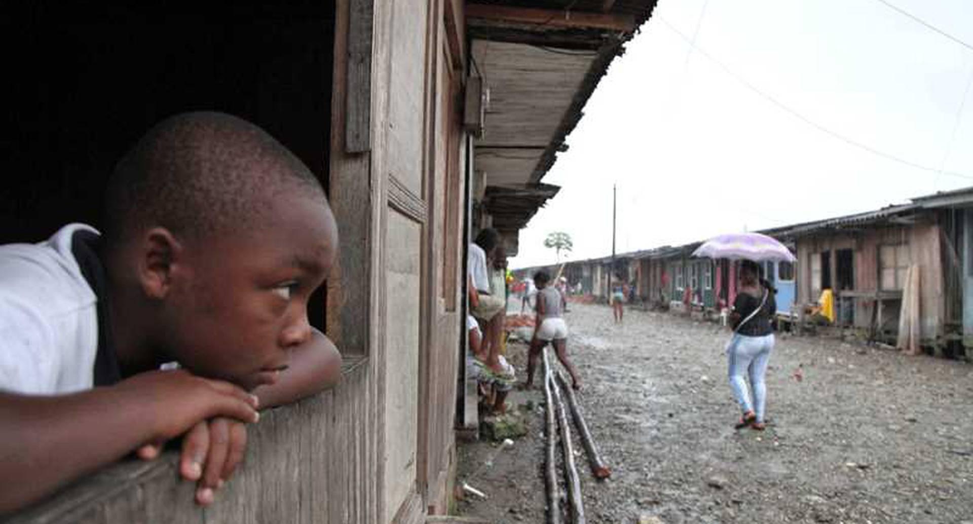 Pobreza en Colombia.