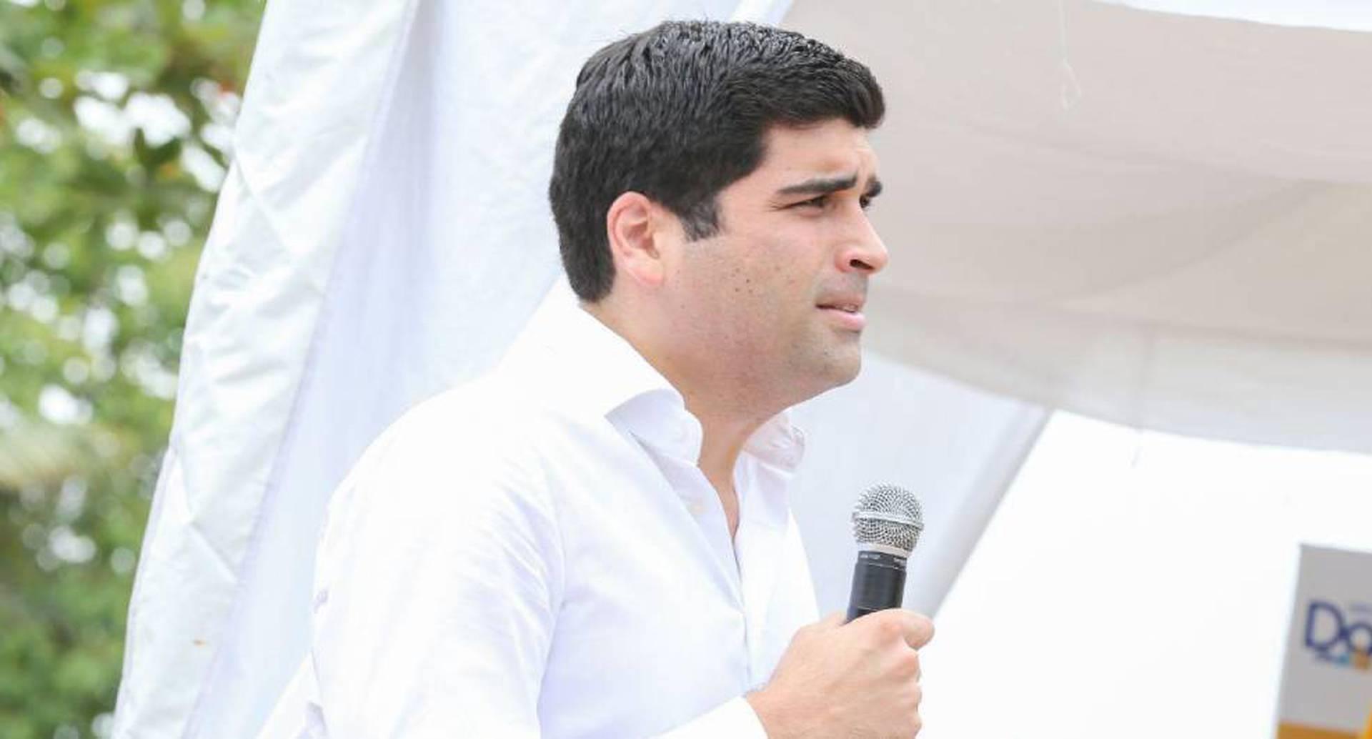 Otto Sonnenholzner renunció a la Vicepresidencia de Ecuador