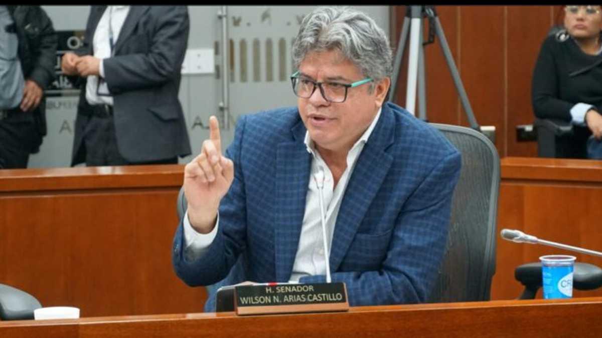 Wilson Arias, senador del Polo Democrático.