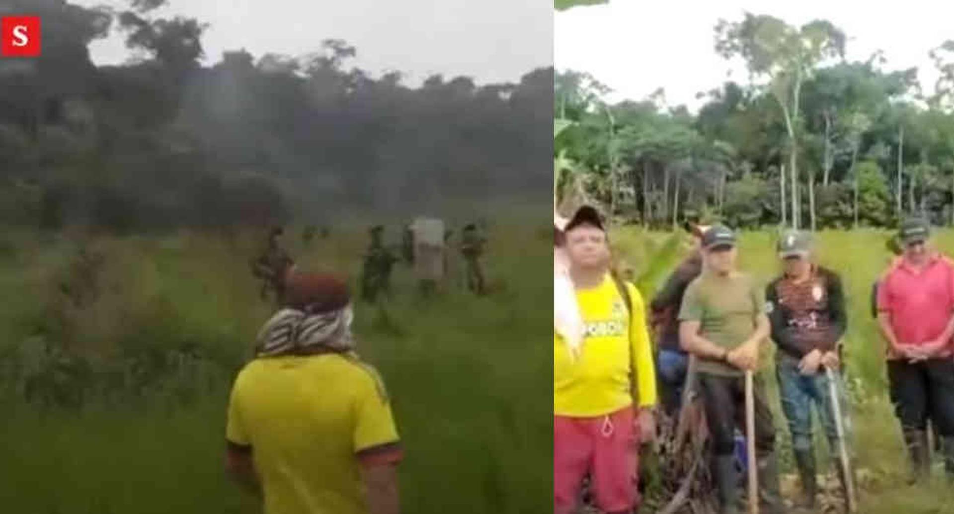 Ejército y campesinos se enfrentan por erradicación de cultivos de coca