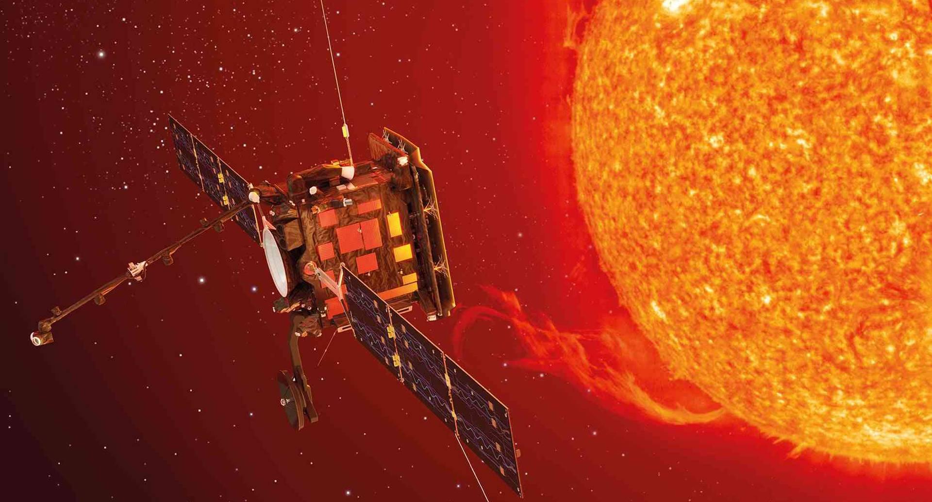 Científicos hallaron una extraña silueta que se arrastraba en la superficie de la estrella.