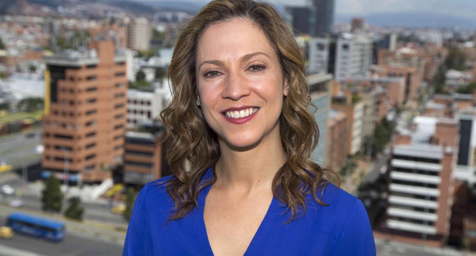 María Claudia Lacouture, director de AmCham, cámara de comercio colombo americana.