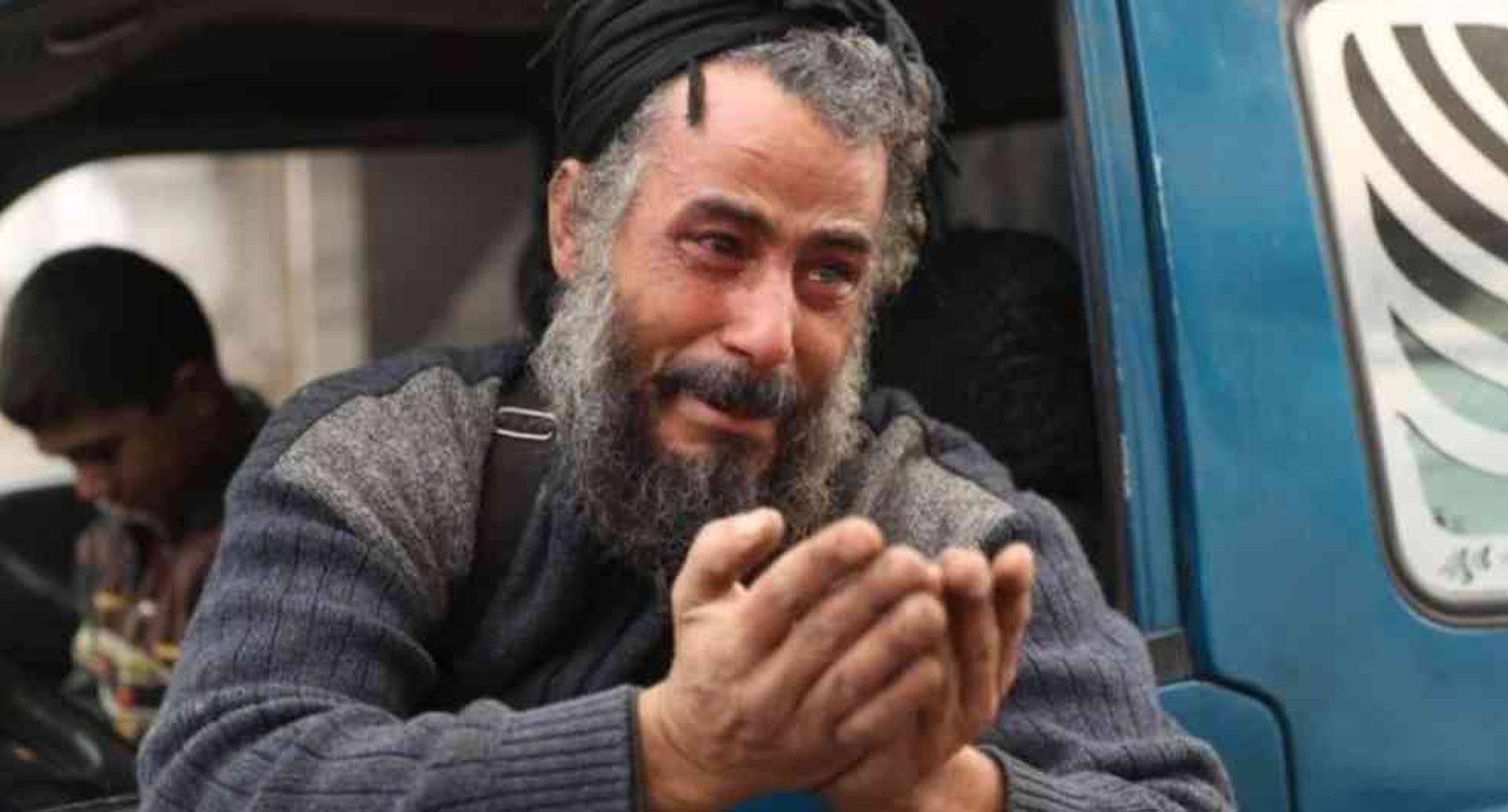 Cientos de miles de personas debieron huir de la ciudad siria Maarat al-Numan, en la provincia de Idlib.