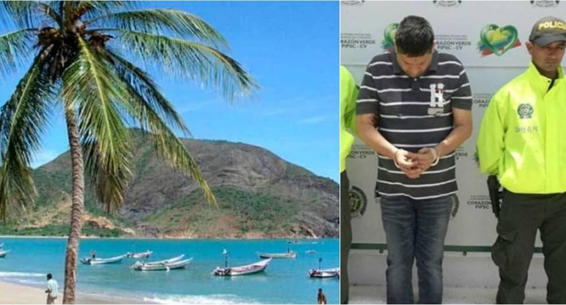 Henry Carrillo, el narco, envíaba la droga desde isla Margarita.