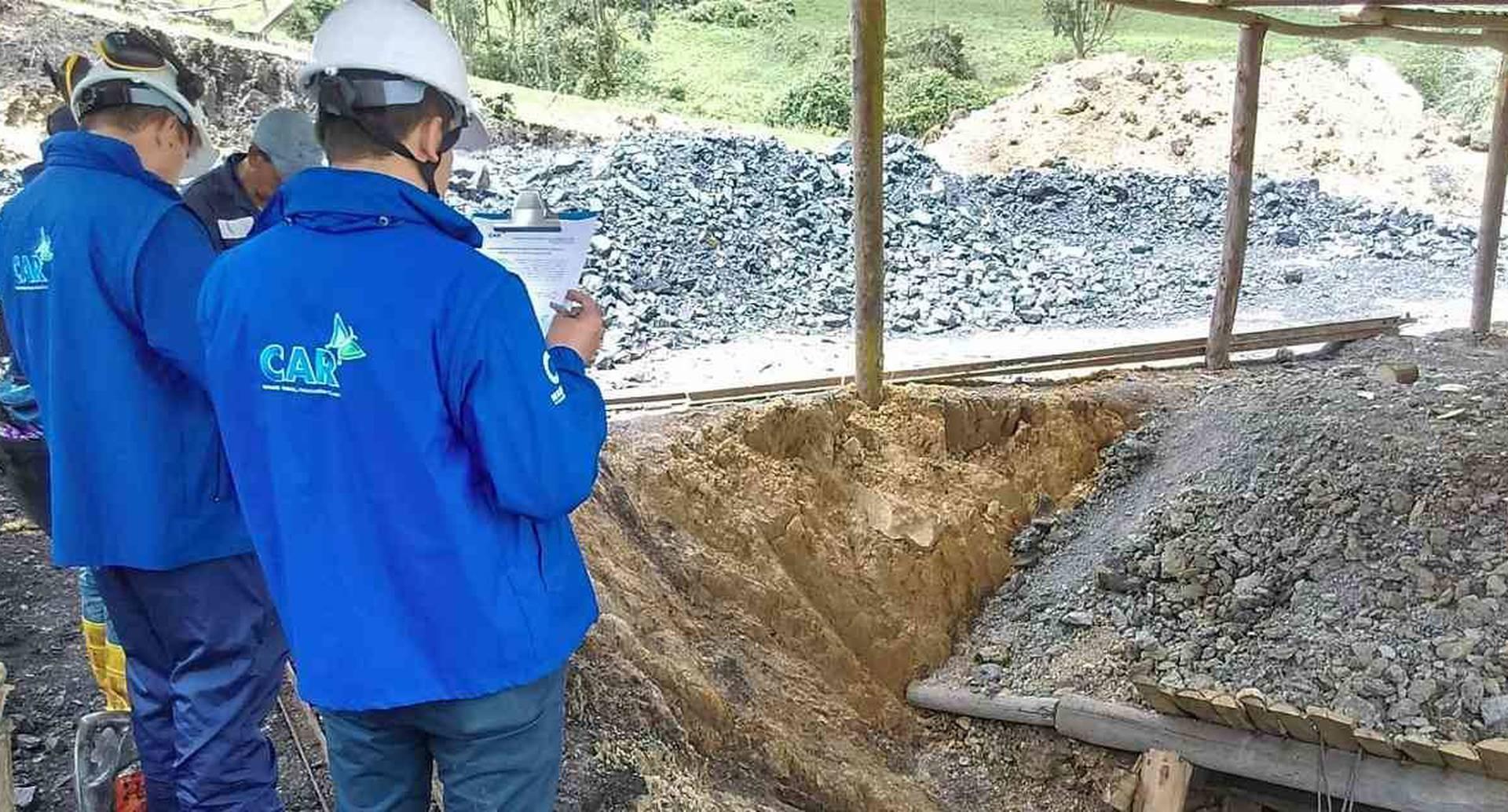 Las CAR son las encaragadas de velar porque las actividades mineras no atenten contra el medioambiente. Foto: CAR Cundinamarca.