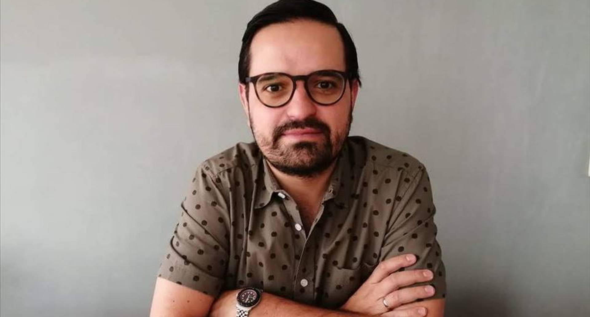 Martín Franco, periodista y escritor. (Crédito obligatorio: Ángela María Gómez)