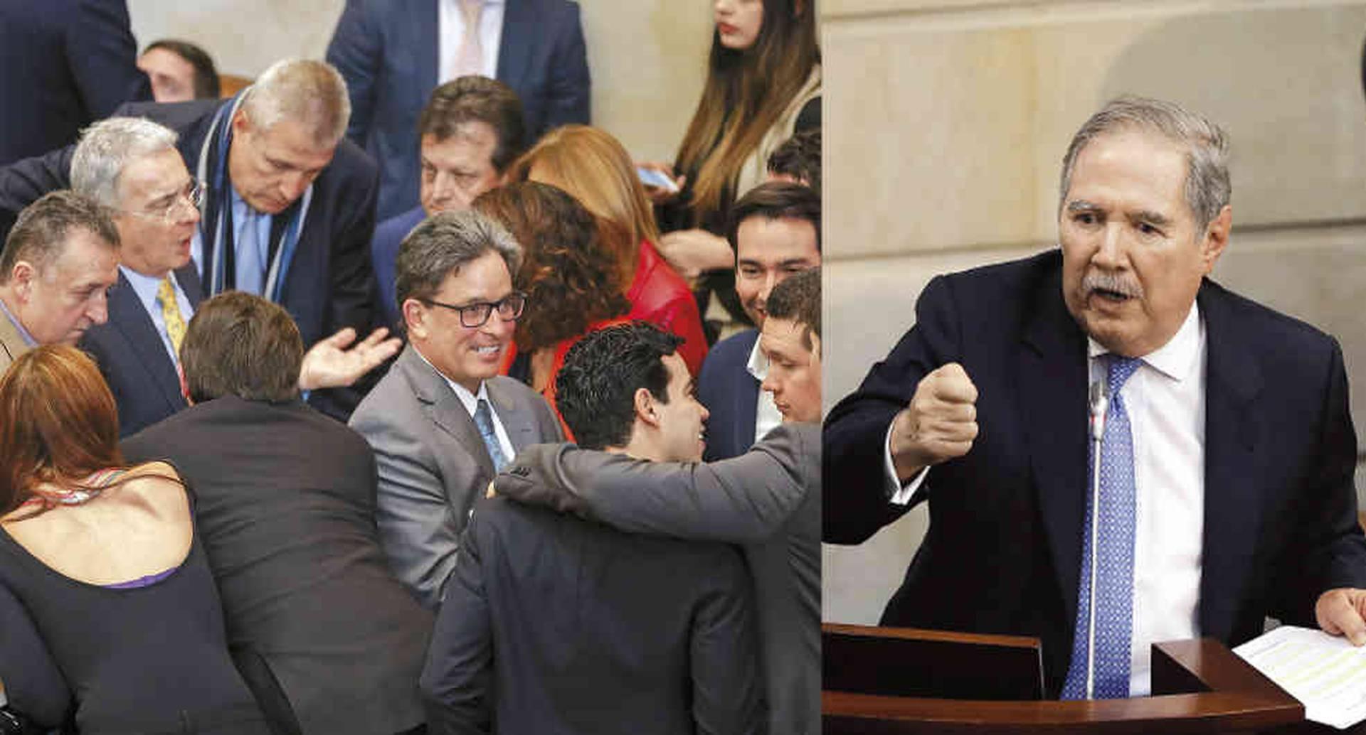 El ministro Carrasquilla demostró que puede sacar adelante iniciativas impopulares en el Congreso. El de Defensa, Guillermo Botero, salió en una moción de censura.