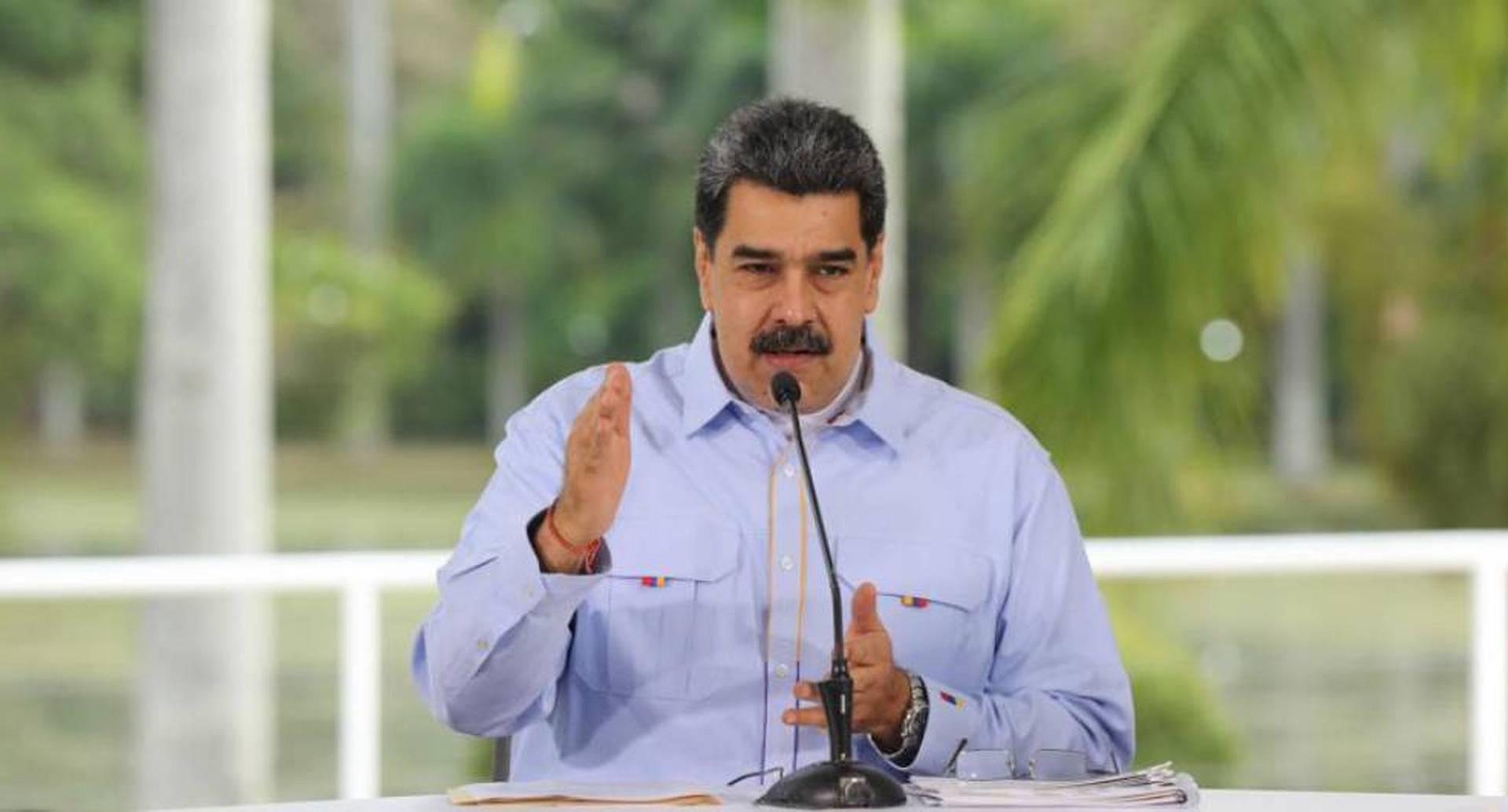 Nicolás Maduro extiende por 30 días más cuarentena en Venezuela por coronavirus