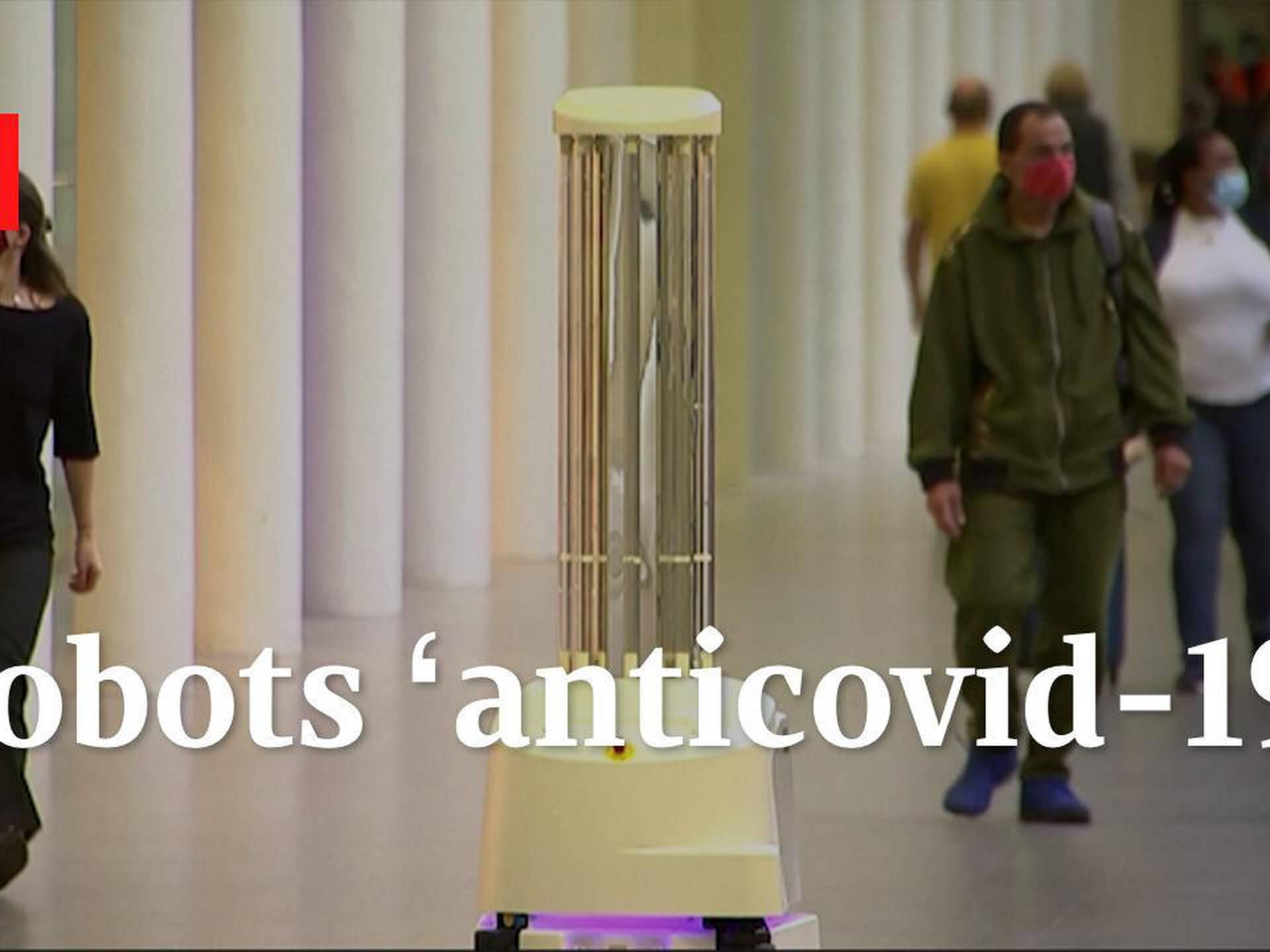 Robots 'anticovid-19'