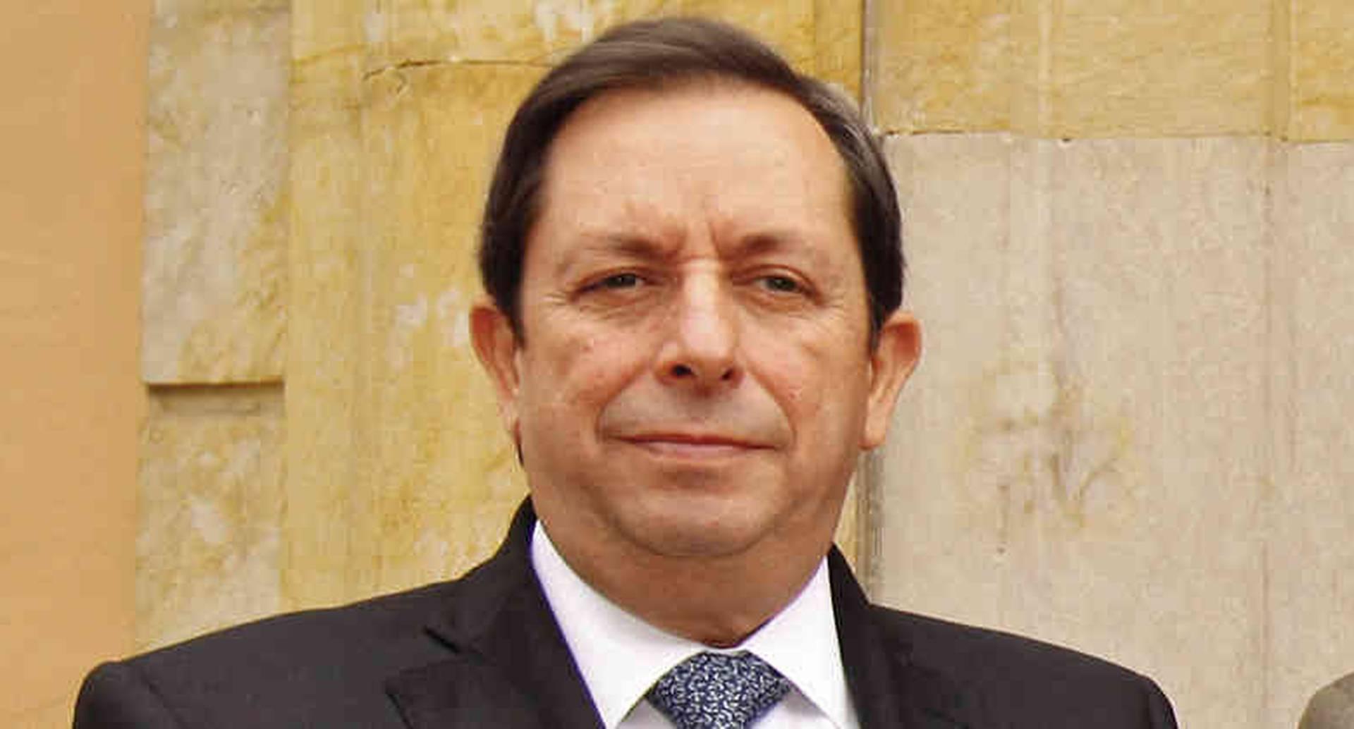 Almirante Álvaro Echandía, director de la Dirección Nacional de Inteligencia.