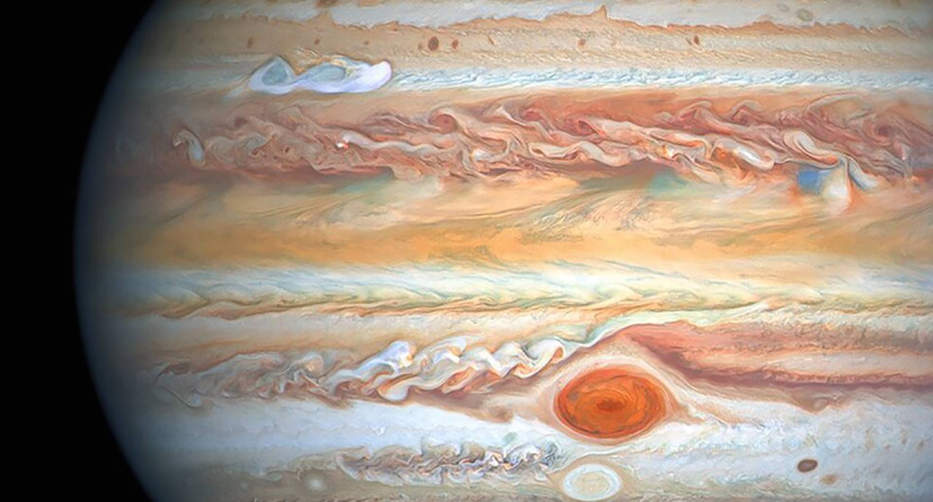 Imágenes de Júpiter.