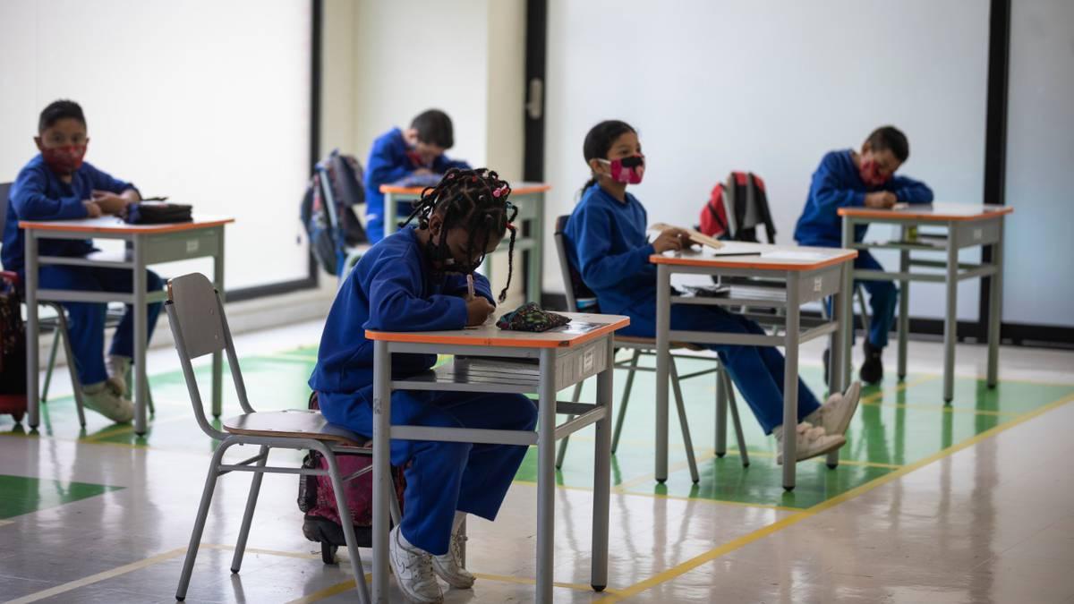 Retorno a la presencialidad en colegios públicos
