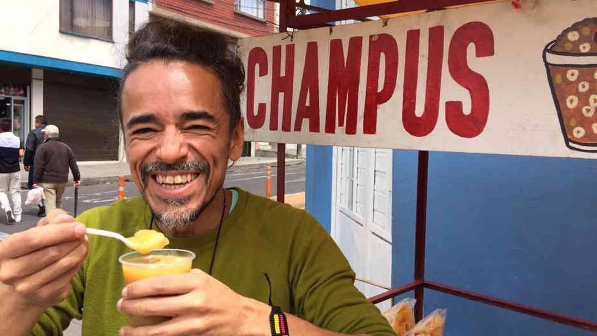 El músico no dudó en compartir su experiencia en la capital nariñense.