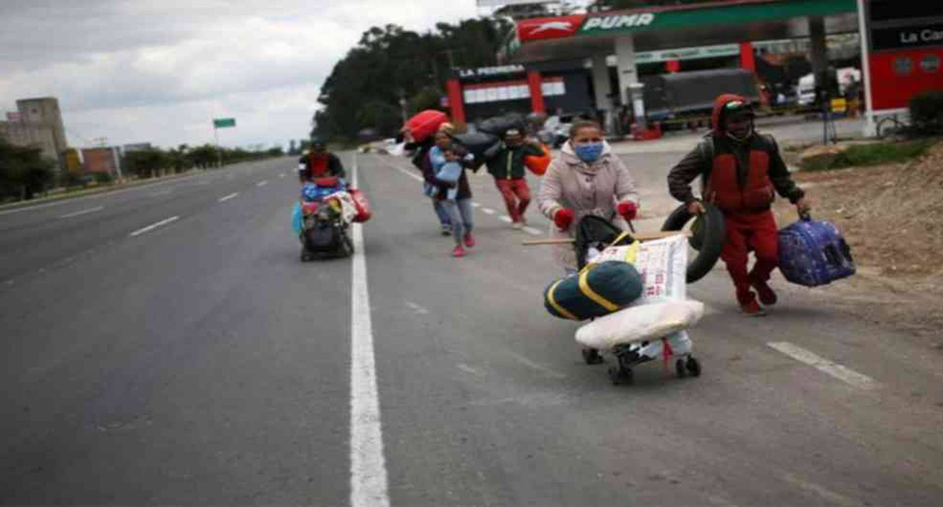 Los venezolanos huyen de su país en busca de mejores condiciones de vida.