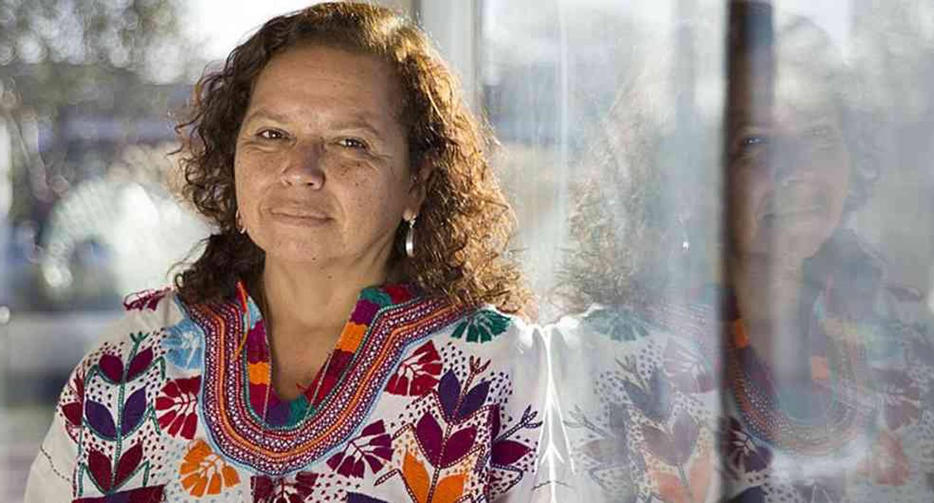 Morena Herrera, activista de la Agrupación Ciudadana por la Despenalización del Aborto