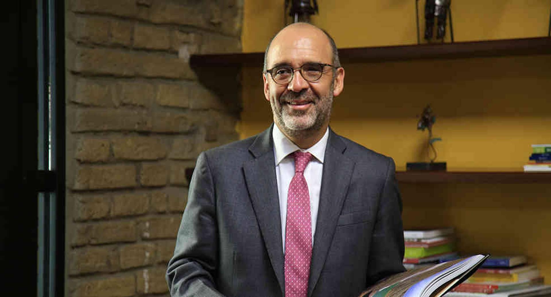 Camilo Sánchez, ministro de Vivienda, Ciudad y Territorio. / El ministro de Vivienda deja su cartera con un buen balance: 1.750.000 viviendas.