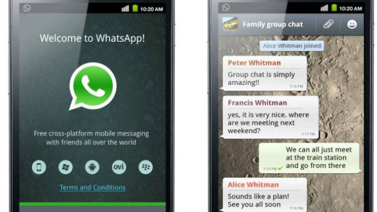 Tan solo en Android, WhatsApp tiene más de 100 millones de usuarios.