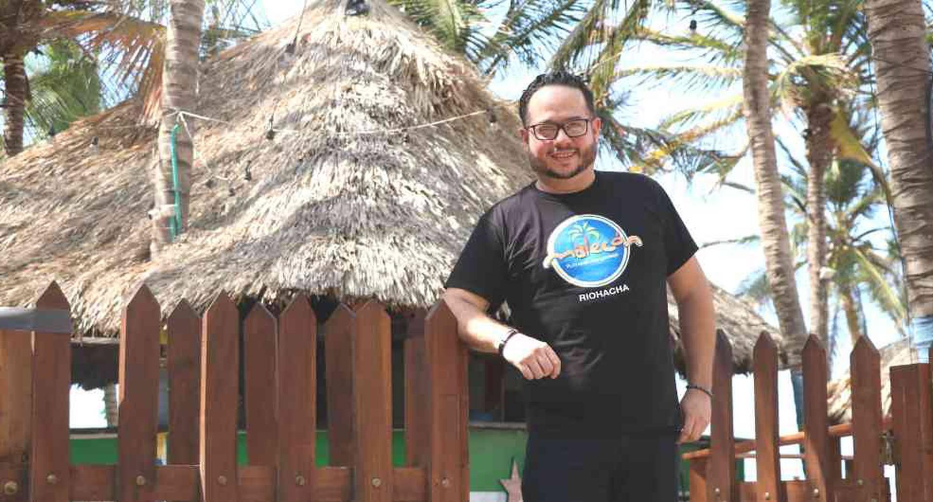 José Ramón Gómez migró de Venezuela a Colombia hace tres años. Se convirtió en gerente de una corporación.